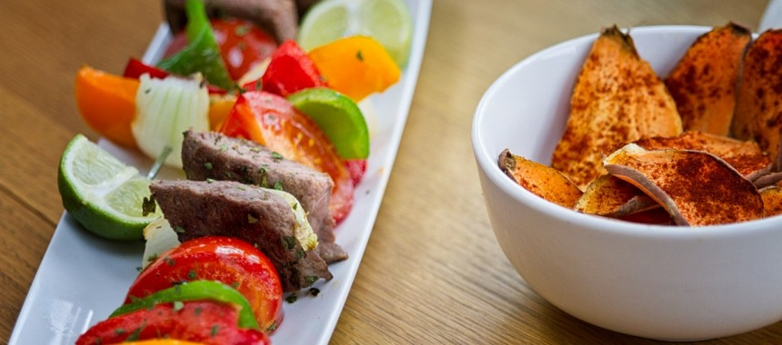 GSN Ostrich Kebabs