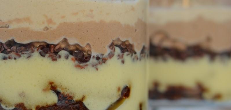 Banoffi Brownie Protein Sundae