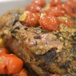 Festive One Pot Roast Beef with Tomatoes