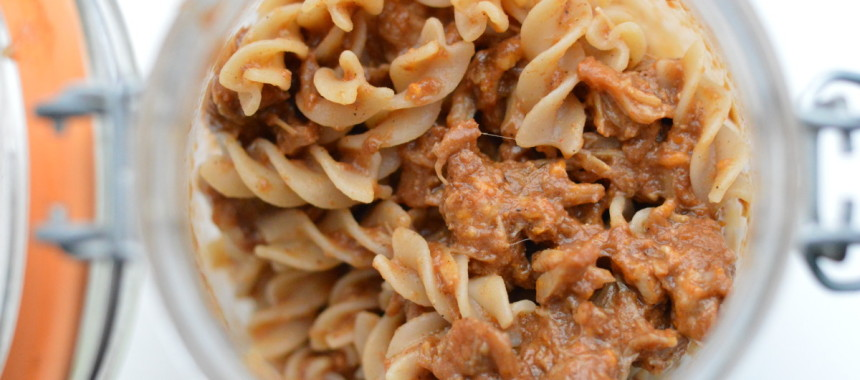 Pulled Pork Pasta Pot