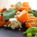 Truffle oil roasted Butternut squash, feta, pine nut & basil salad