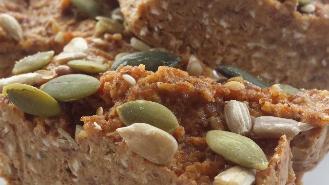 Vanilla almond nut butter vegan protein bars