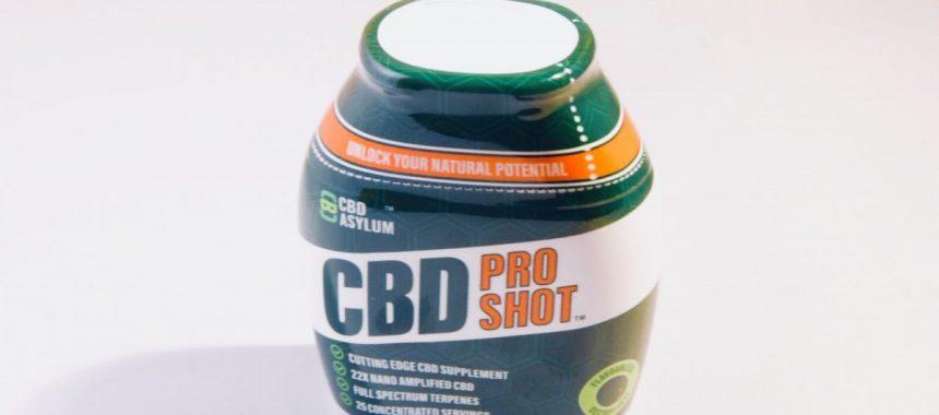 CBD Asylum Pro Shot Review
